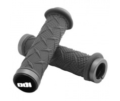 Gripy- ODI Grips X-Treme ATV  120 mm,  Grey lock-on