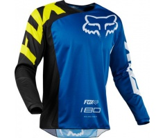 FOX - dres 180 Race Jersey - Blue, MX18