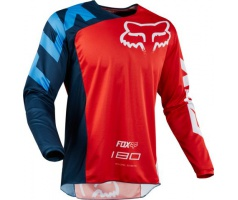 FOX - dres 180 Race Jersey - Red, MX18