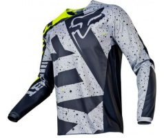 FOX - dres 180 Nirv Jersey - Grey/Yellow, MX17