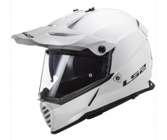 LS2 MX436 PIONEER EVO SOLID WHITE